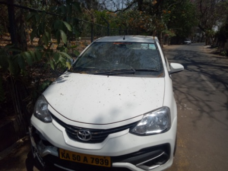 hire or rent toyota Etios sedan cab in Bengaluru at cheapest price, outstation local and airport transfers in Toyota Etios at affordable price